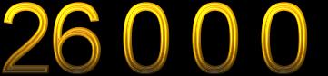 Number 26000